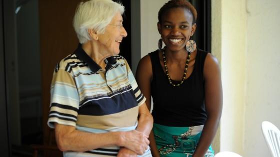 Ursula Jetter and Ann Karungari Wangui