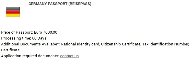 Get a German Passport