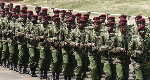 GSU Kenyan Anti Terrorism Police Unit