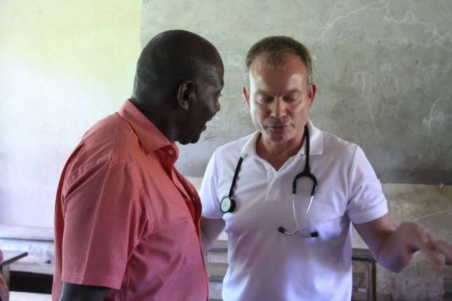 Peter Schehe and Dr. Daniel Meyer