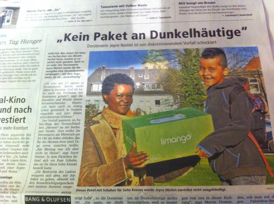 Joyce Nietiet Dorstener Zeitung