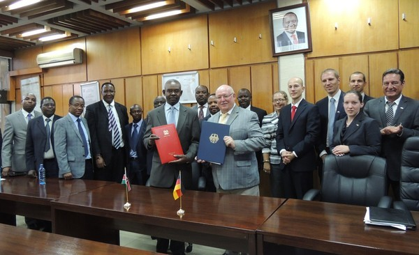 Kenya and Germany bilateral agreement signing