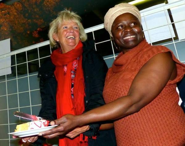 Stella Weber and Renate aus der Beek Love from Africa