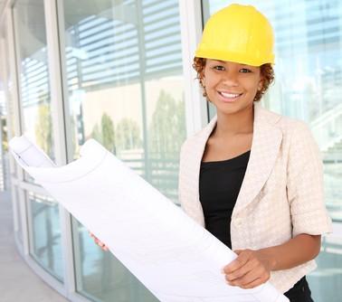 African Female engineer