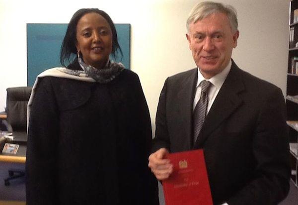 Amina Mohammed and Horst Köhler