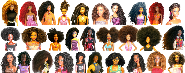 Black Dolls Natural Girls United
