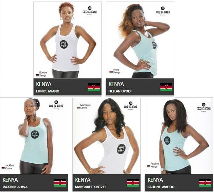 FOAG Kenyan Finalists