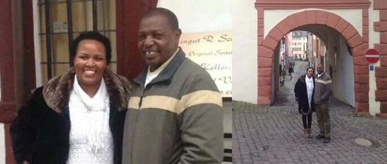 Wilfred Njiiri Kigo and his wife Immaculate Njiiri