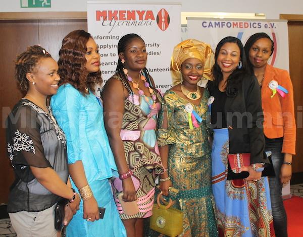 Inspiring Change- Celebrating Our Women in Essen 2014 seqel Kenyans with Gloria Gonzalez
