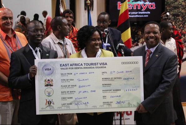 Kenya, Uganda, Rwanda representatives at the ITB Berlin 2014