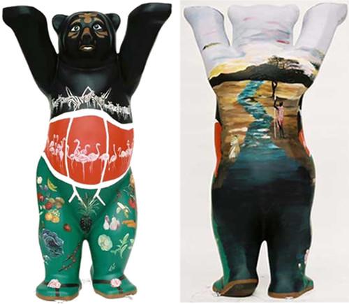 Kenyan Embassy Bear