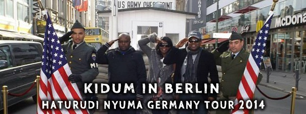 Kidum, Real Mapapa Salim, Anna Mpenzi at Check Point Charlie