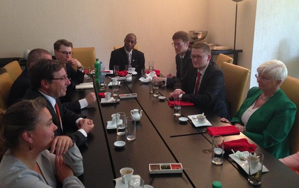 German MPs meet UNEP Executive Director Steiner in Nairobi - Kopie