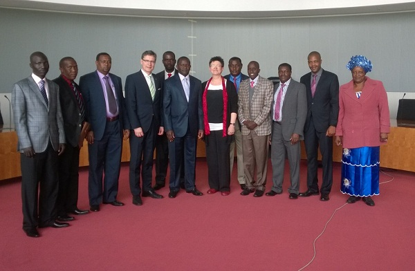 Kenyan MPs at the Bundestag