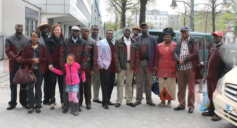 Kenyan Mps in Berlin 2014