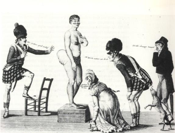 Saartjie Sarah Bartmann Human Zoo in London 1810
