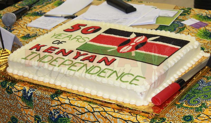 Diaspora Day Frankfurt cake