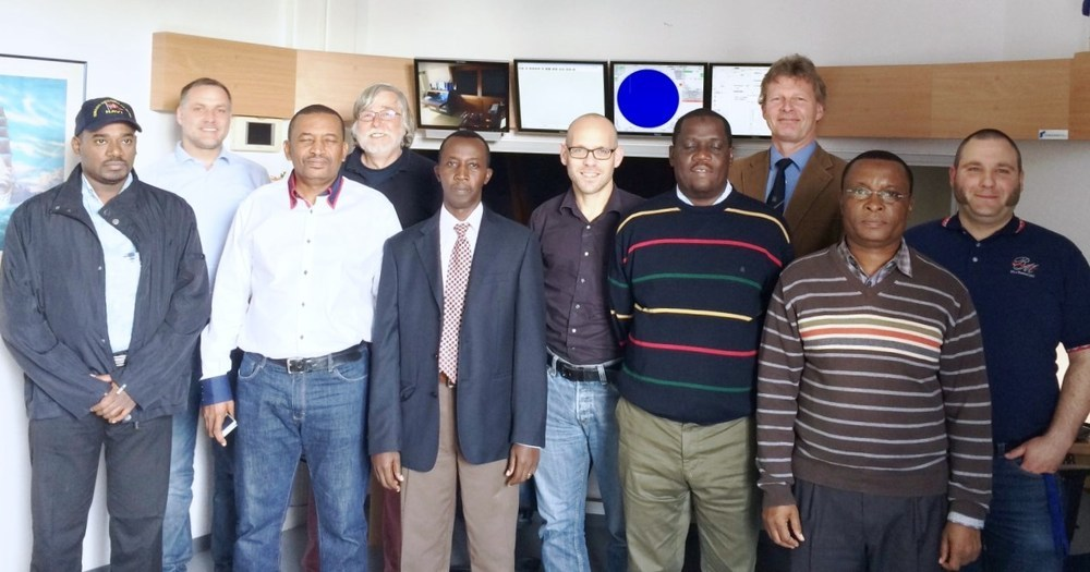 Kenyan team with University Bremen, Inros Lackner AG and Hamburg Port Services GmbH