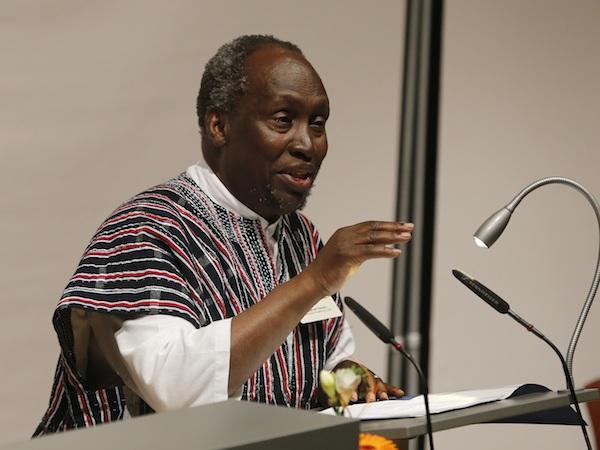 Prof. Ngugi wa Thiongo at Uni Bayreuth