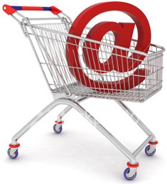 online shopping, wagen, basket