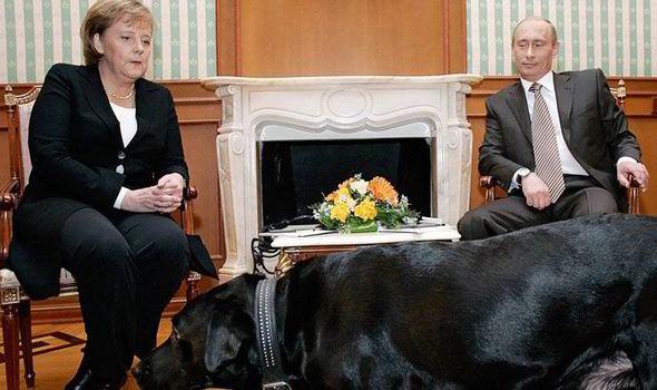 Angela Merkel and Putin
