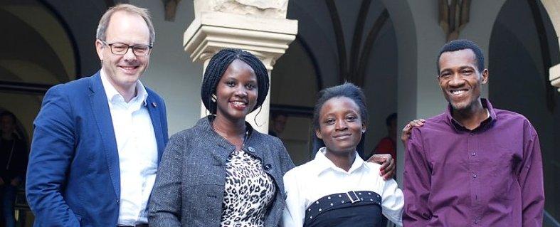 Lehreraustausch Lehrer aus Kenia