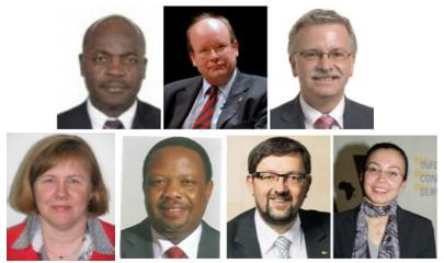 Dr. Ute Heinbuch, Ken Nyauncho Osinde, Andreas Lämmel, Asmau Nitardy, Samuel Agutu, Michael Rabbow, Michael Gahler
