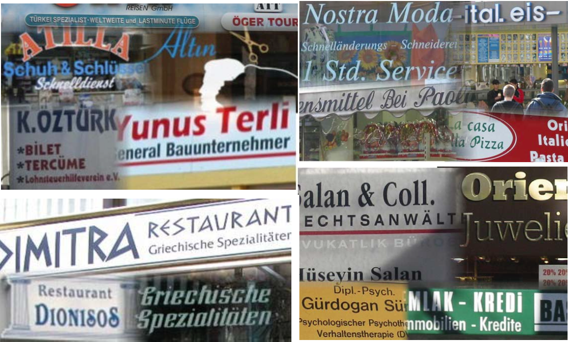 Migrant owned businesses