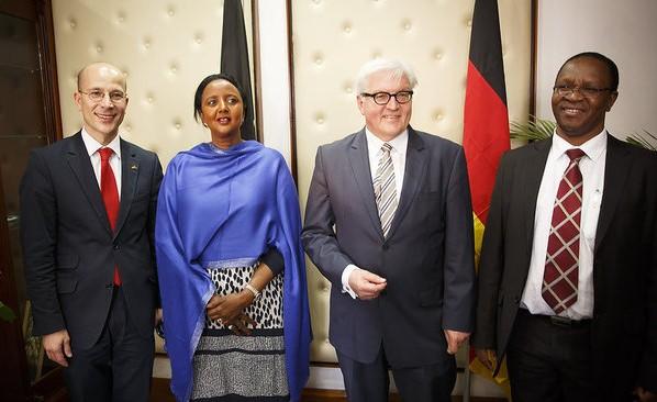 Bundesaussenminister Frank-Walter Steinmeier, SPD besucht Kenia