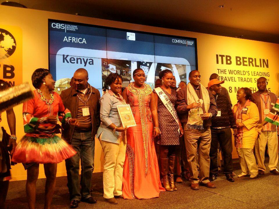 Emmy Kosgei ITB Best destination exhibitors