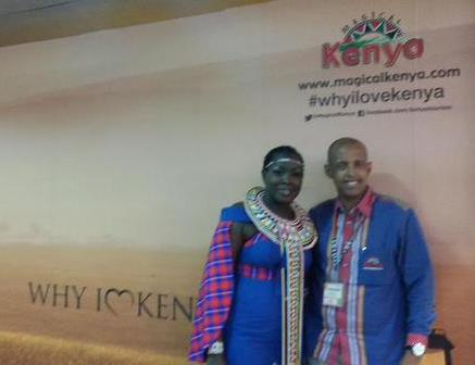 Mohammed Hersi and Emmy Kosgei