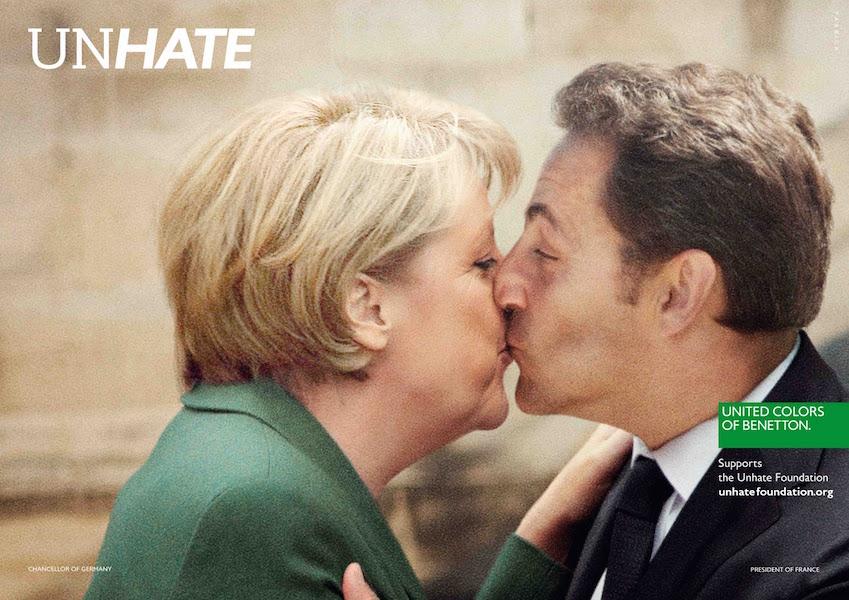 Angela Merkel Sarkozy Unhate Foundation