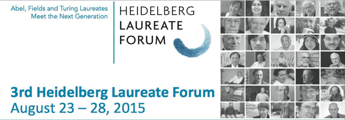 Heidelberg Laureate Forum 2015