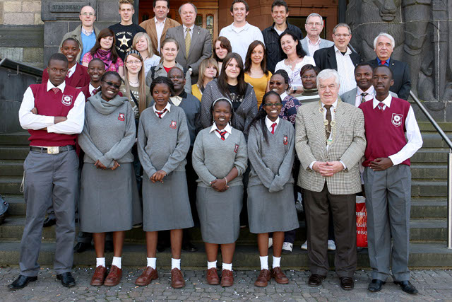 Lenana and Kenya High Students at Gesamtschule Recklinghausen-Suderwich