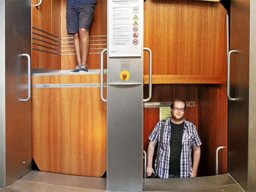 paternoster Vertical Carousel lift aufzug