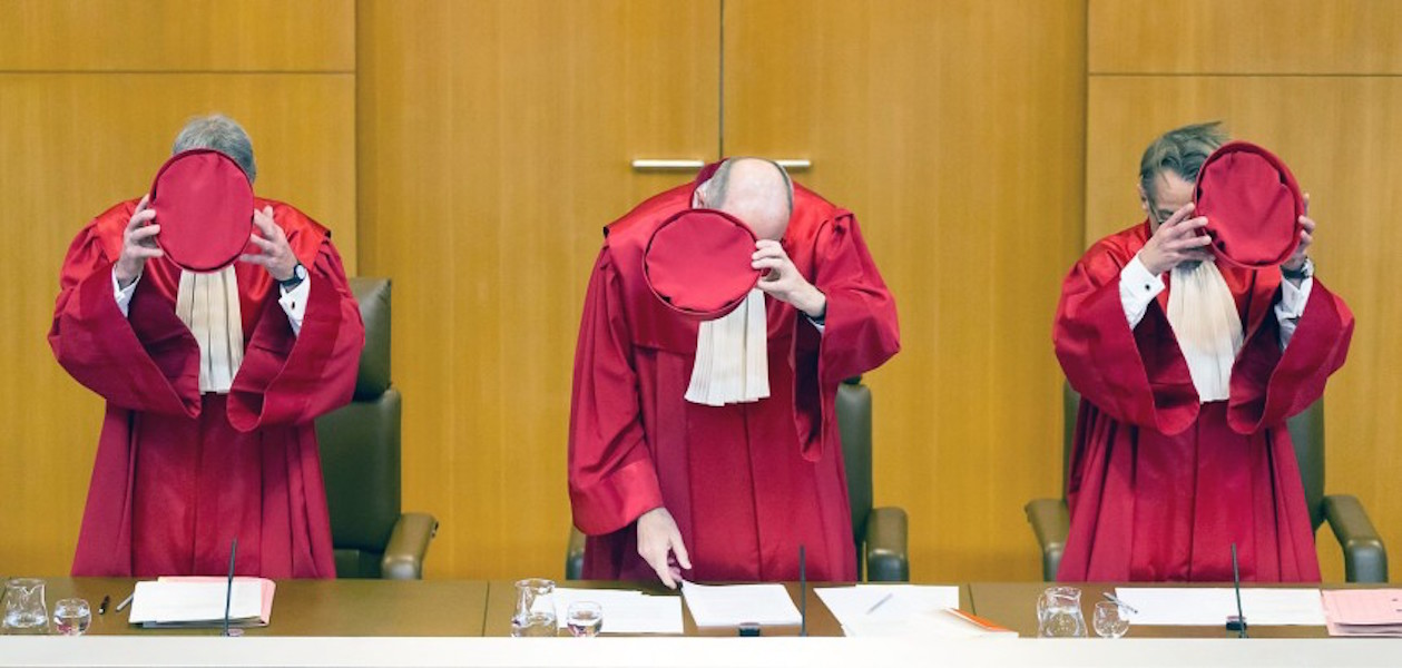 Bundesverfassungsgericht, German constitutional court judges