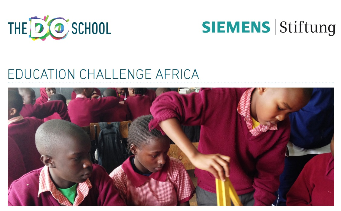 Do School, Siemens Stiftung Education Challenge Africa