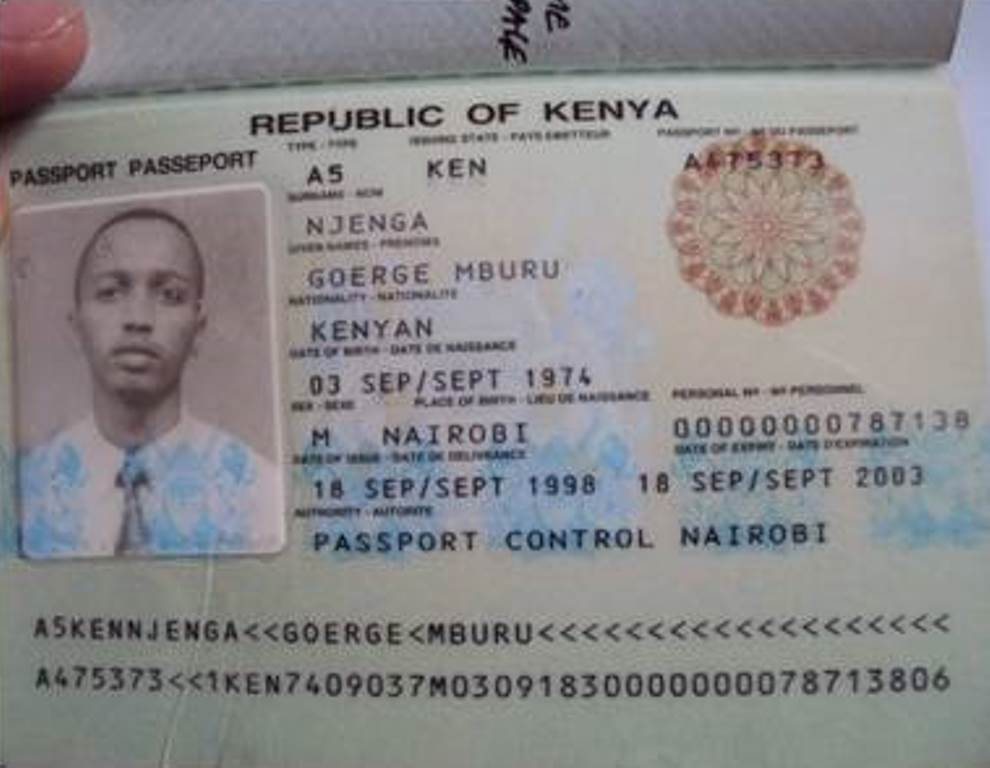 New Kenyan Passport