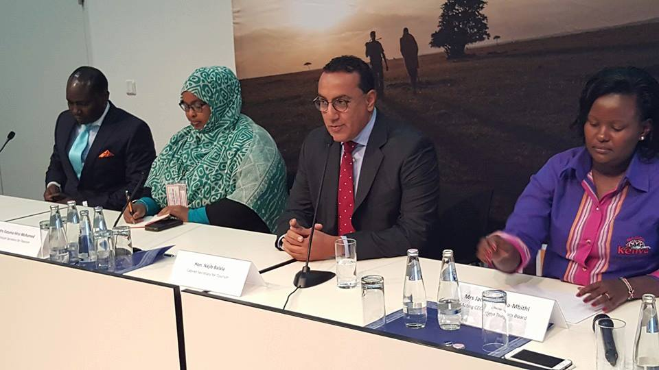 Joseph Magutt, Fatuma Hirsi Mohammed, Najib Balala and Jacinta Nzioka Mbithi