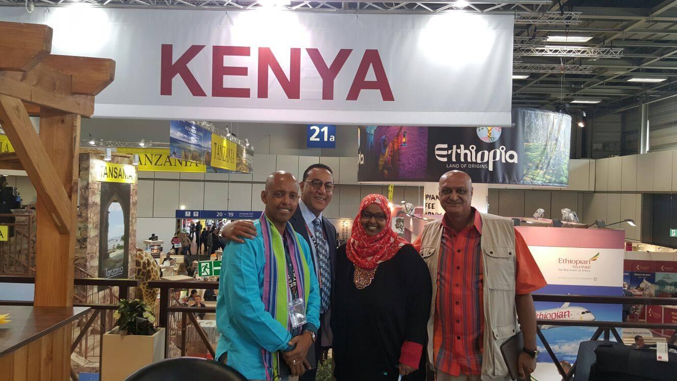 Mohammed Hersi, Najib Balala, Fatuma Hirsi Mohamed,