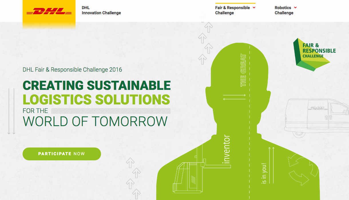 DHL Sustainability Challenge