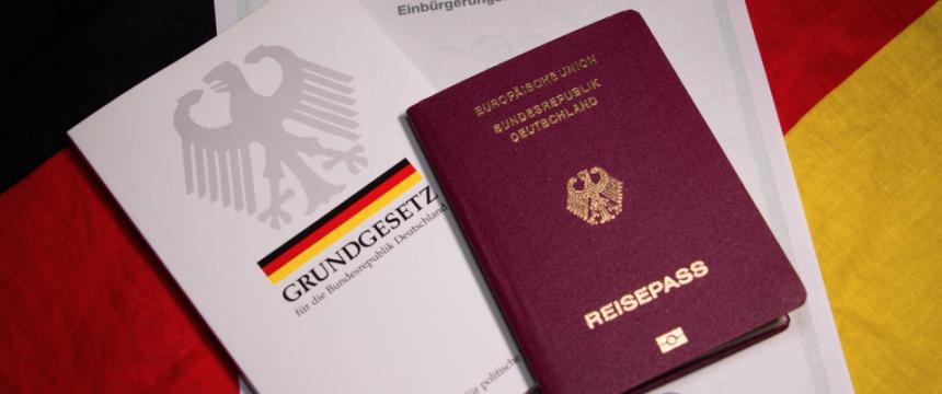 German passport grundgesetz